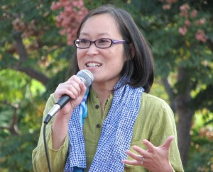 JACCC President and CEO Leslie Ito (J.K. YAMAMOTO/Rafu Shimpo)