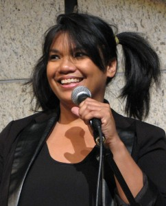 "Maritess Zurbano wrote and performed ""Magical Girl"" and ""Tommy the Adequate."""