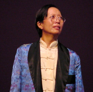 "Jeanne Sakata as Master Hua in Chay Yew's ""Red."""