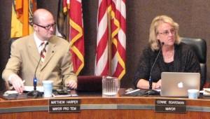 Mayor Pro Tem Matthew Harper voted for demolition and Mayor Connie Boardman voted against.