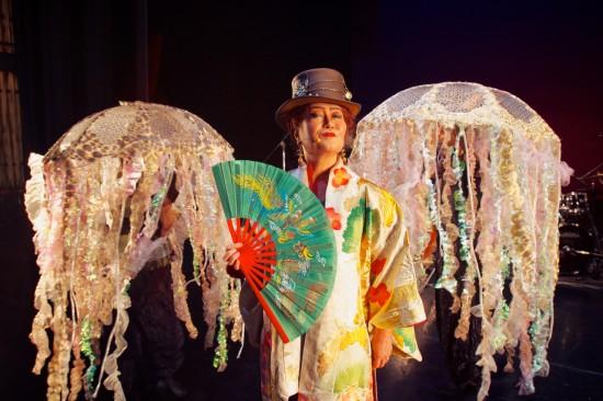 Brenda Wong Aoki and her jellyfish friends.