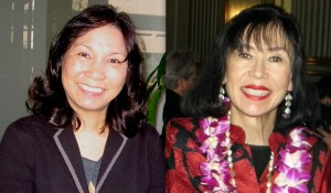 Priscilla Ouchida and Karen Korematsu (Rafu Shimpo photos)
