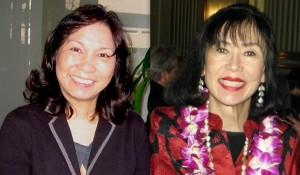 Priscilla Ouchida and Karen Korematsu (Rafu Shimpo photos)