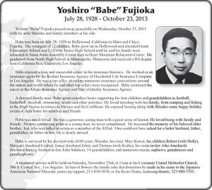 yoshiro_fujioka_obit_20131109_bw