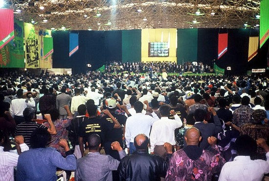 In 1991, ANC delegates — some who had returned from exile, some recently released from prison and others who emerged from the underground movement inside South Africa — gathered to plan the future course of the transition from apartheid to a democratic state.