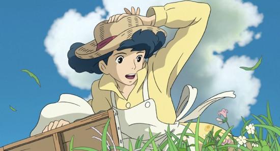 "Naoko Satomi, the love interest of Jiro Horikoshi, in a scene from Hayao Miyazaki's ""The Wind Rises."" (Nibariki-GNDHDDTK)"