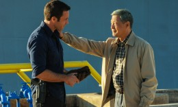"Steve McGarrett (Alex O'Loughlin) and Daniel Toriyama (James Saito) share a common bond in a scene from this week's ""Hawaii Five-0"" episode. (CBS)"