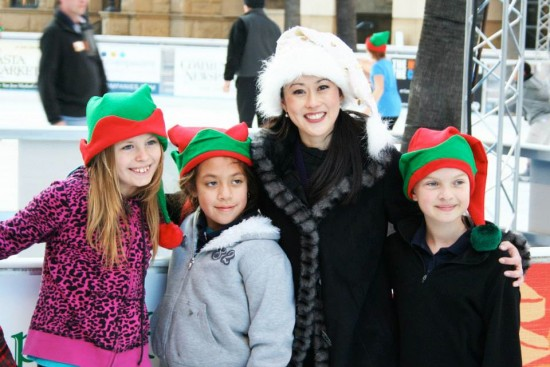 Kristi Yamaguchi attends the opening of the San Jose rink in November.