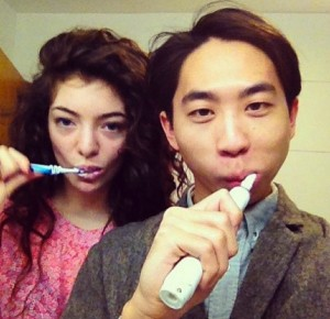Lorde and James Lowe (Instagram)