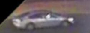 Video image of the suspect vehicle.