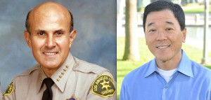 Sheriff Lee Baca and former Undersheriff Paul Tanaka