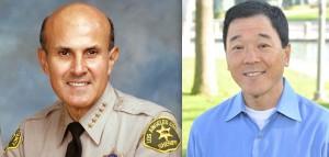 Sheriff Lee Baca and former Undersheriff Paul Tanaka