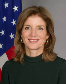 U.S. Ambassador to Japan Caroline Kennedy