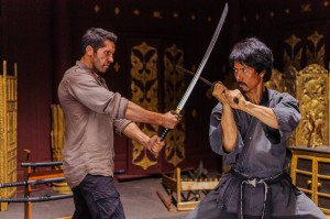 "Scott Adkins and Kane Kosugi in ""Ninja 2."""
