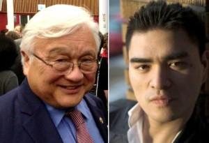 Rep. Mike Honda and Jose Antonio Vargas