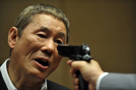 "Beat Takeshi in ""Beyond Outrage."" (Photo courtesy of Magnolia Pictures)"