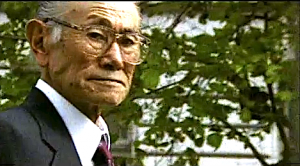 "Fred Korematsu in a scene from ""Of Civil Wrongs and Rights."""