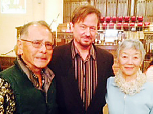 Rev. Frank Schaeffer meets with Phil and Marion Shigekuni.