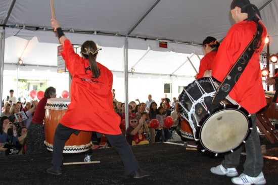 Taiko Center of Los Angeles at last year's Lunar New Year celebration.