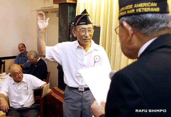 taking oath