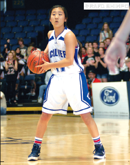 Taylor Tanita was named the Ocean League MVP for 2012-13.