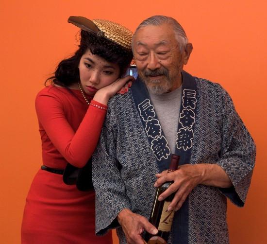 Wendy Woo Lucy as and Hiroshi Kashiwagi as Tenshi.