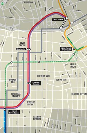 2020年に開通を予定しているリージョナルコネクター(緑色の線)