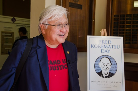 Rep. Mike Honda (D-San Jose) was interned as an infant during World War II. (Bob Hsiang Photography)