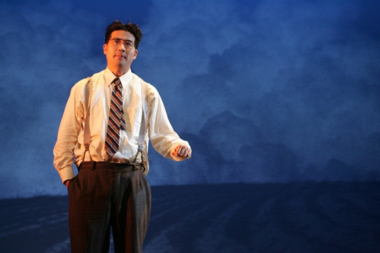 Ryun Yu as Gordon Hirabayashi (Photo by Michael Lamont)