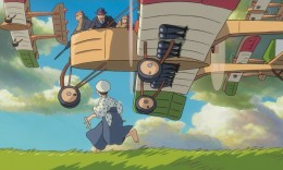"Young Jiro Horikoshi is inspired by Italian aviator Caprioni in a scene from ""The Wind Rises."" (Studio Ghibli)"