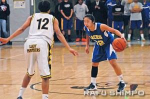 Sidney Tanioka led all scorers with 14 points.