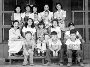 Dorothea Lange took this photo of Children's Village at Manzanar on July 1, 1942. (Bancroft Library, UC Berkeley)