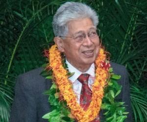 Former Sen. Daniel Akaka
