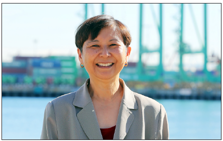 Eileen Yoshimura (Photo courtesy of Port of Los Angeles)
