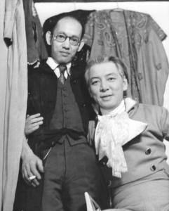Michio Ito (right) with Toyo Miyatake.