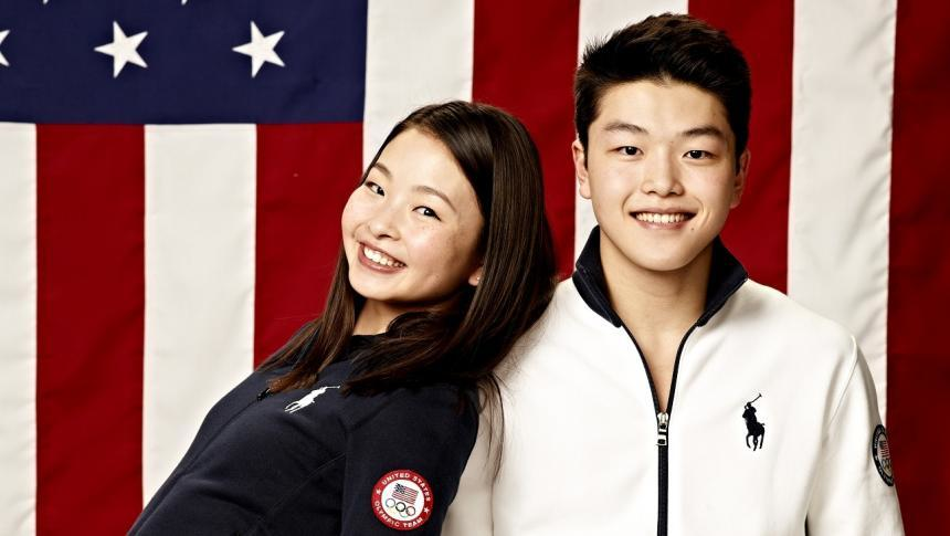 The Shib Sibs — Maia and Alex Shibutani. (NBC)