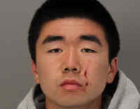 Daiki Glenn Minaki's booking photo