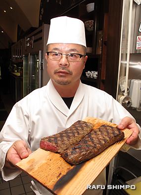 総料理長の藤本茂典さん
