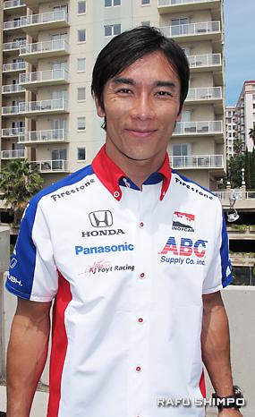 トヨタ・グランプリ連覇へ向け、意気込む佐藤琢磨