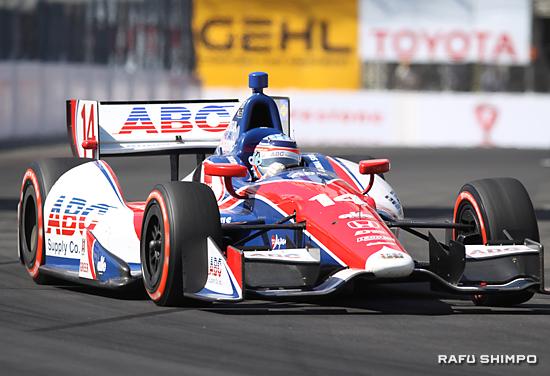 昨年のトヨタ・グランプリで初優勝した佐藤琢磨