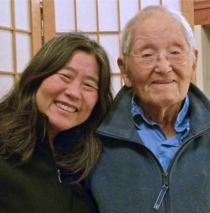 Roy Matsumoto and his daughter Karen.