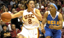 Jamie Hagiya played for the Women of Troy. (USC Sports Information)