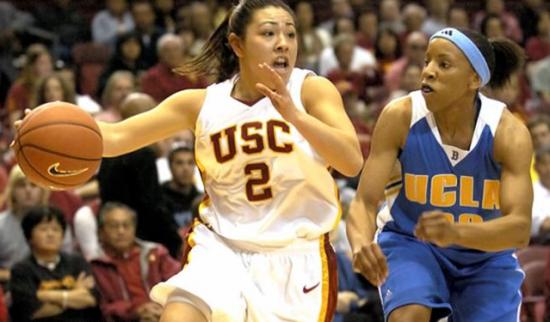 Jamie Hagiya played for the Women of Troy. (USC Sports Information)