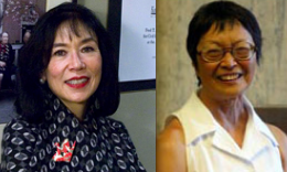 Karen Korematsu and Tanako Hagiwara