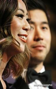 Kira Teshima and Josh Morey of the New Leadership Advisory Council.