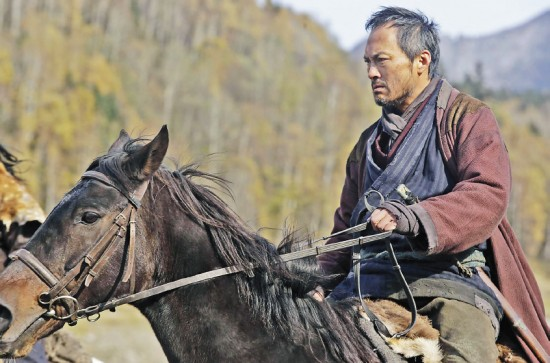 "Ken Watanabe reinterprets Clint Eastwood's emotionally scarred former gunslinger in the remake of ""Unforgiven."""