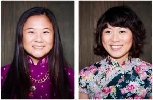 Jenny Yang and Atsuko Okatsuka (Photo by Leva Ann)