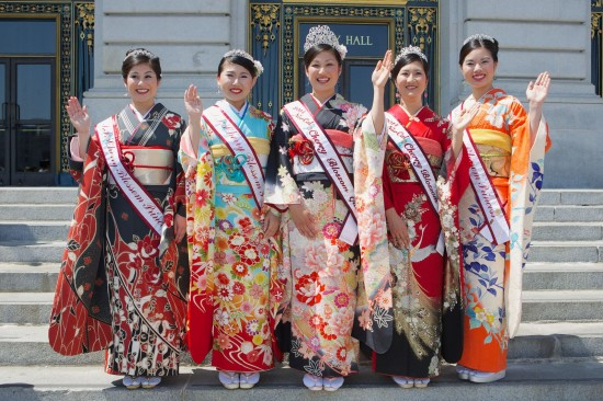 2014 cherry blossom court at city hall