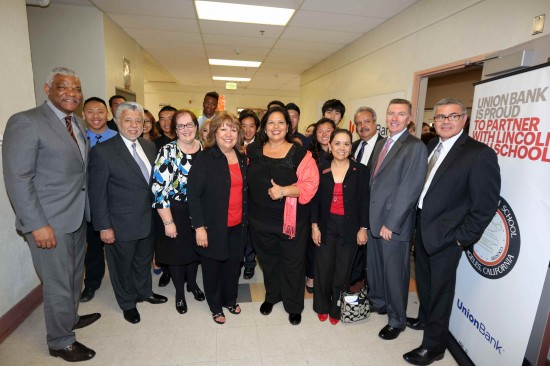 Union Bank - LAUSD Lincoln Grand Opening May 2014