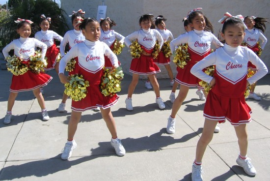 The Pom Pom Girls will be among the performers at Fujimatsuri. (Rafu Shimpo photo)